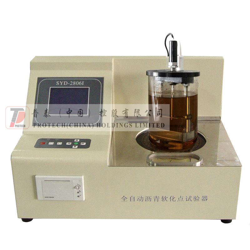 SYD-2806I Automatic Asphalt Softening Point Tester