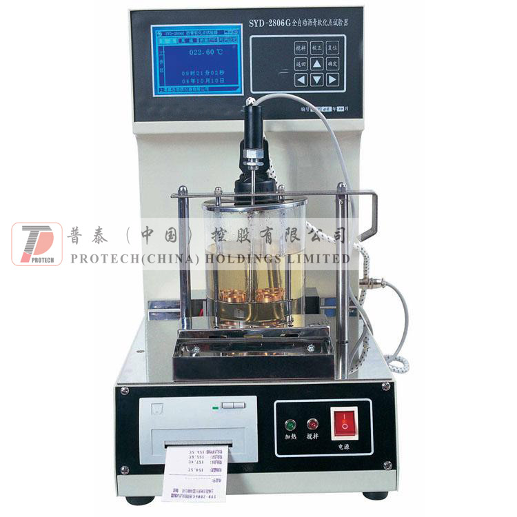 SYD-2806G Automatic Asphalt Softening Point Tester