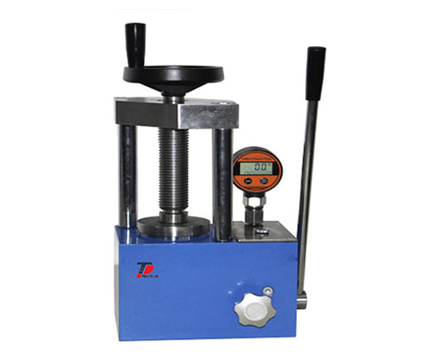12T Digital Manual Powder Press with 2 columns