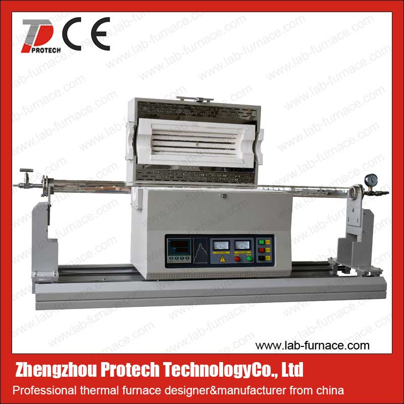 Sliding tube furnace