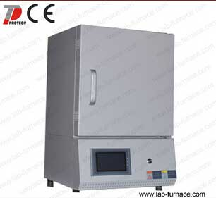 High temperature sintering muffle furnace
