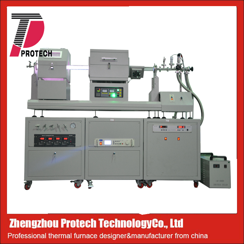 PECVD furnace for producing large area graphene films