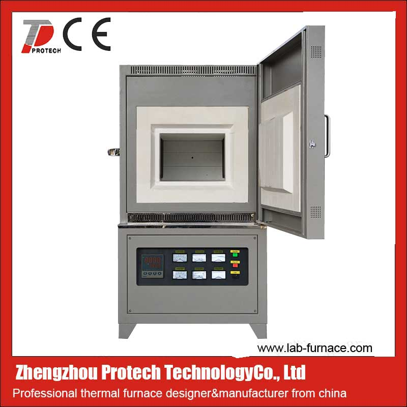 Three phase electric high temperature muffle furnace